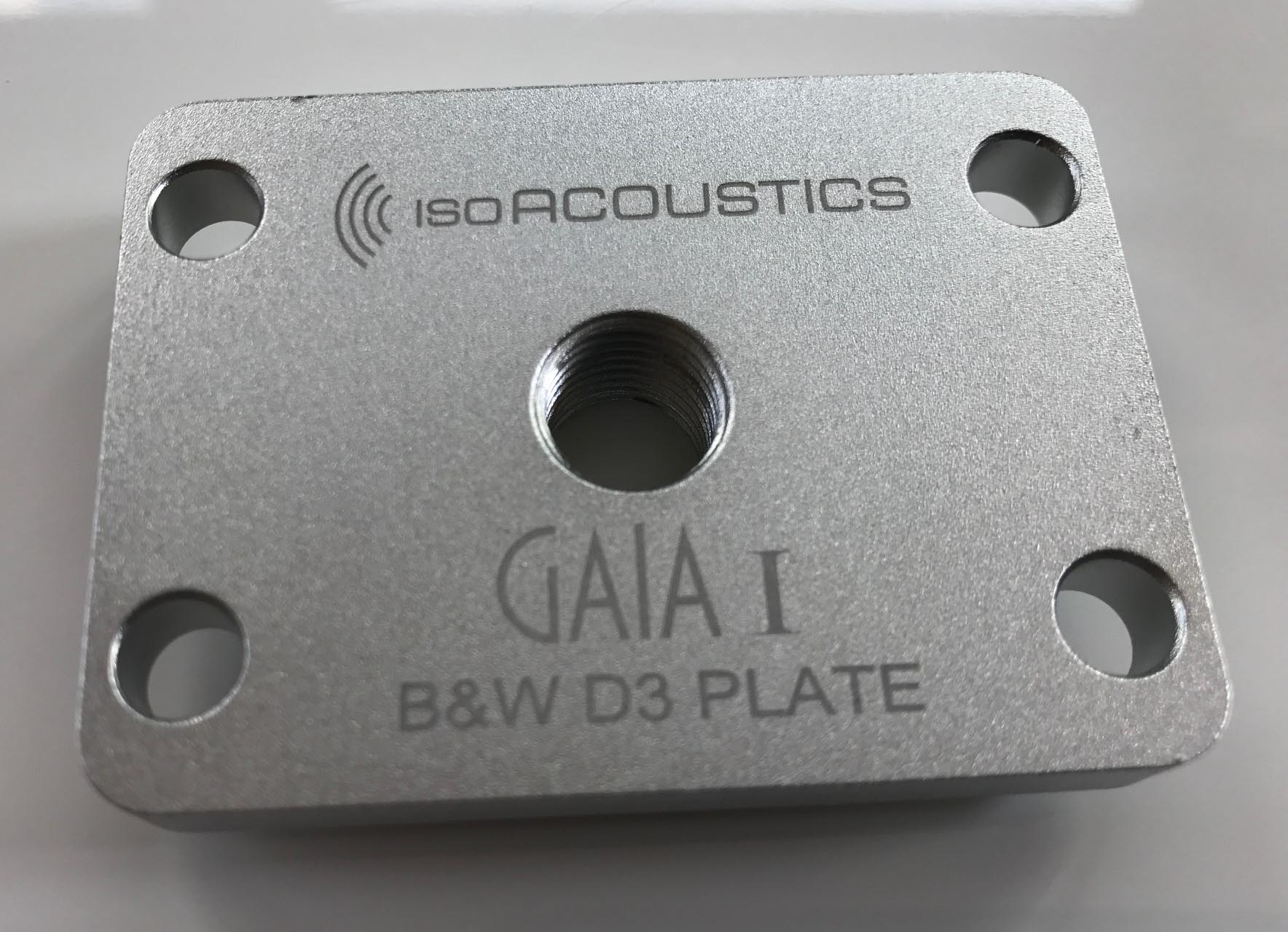 B&W D3 Plate Top
